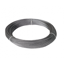 "Galvanized Cable 1/16"" x 250' Capacity 96 Lbs 7x7"