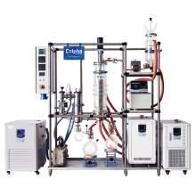 "Turnkey 6"" Hybrid Wiped Film Evaporator 2.5 ~ 5kg/h CBD Distillation"