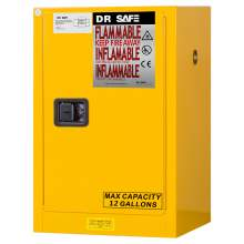 "Flammable Cabinet 12 Gallon 35"" x 23"" x 18""  Self-Closing Door"