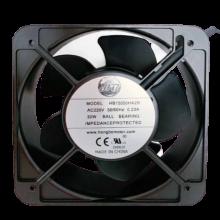 5.9'' 220vac Axial fan, 50/60Hz, 26/28W, 198 cfm, 1ph, lead wires