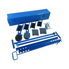 Industrial Machinery Mover Roller Kit 20 Ton, 44000 Lb.
