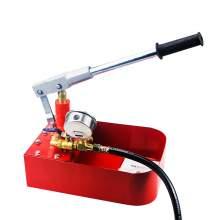 Hand Plumbing Tools Bench Pipeline Manual Hydralic Water Pressure Testing Pump