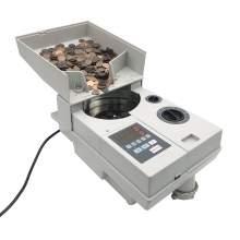 Ribao Compact and Portable Coin Counter and Sorter 1800 Coins/Min