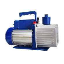 9CFM Dual-stage Rotary Vane Economy Vacuum Pump 1HP 110V/60Hz