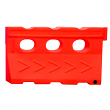 """59"""" Water-Cable Barrier Safety Plastic Barricade Water Filled Barriers"""
