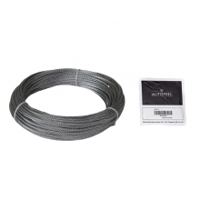 "Galvanized Cable 1/8"" x 100' Capacity 340 Lbs 7x7"