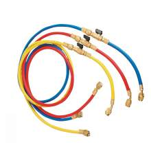 """AC 60"""" Refrigerant Charging Hose with Ball Valve Apply to R134A R22"""