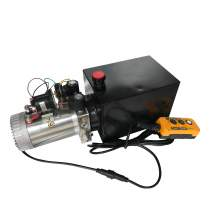 12V DC 1.2GPM 2900 PSI Double Acting Hydraulic Power Unit