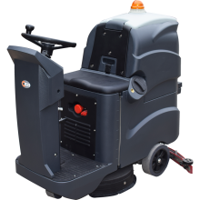 """20""""  15 Gal Ride On Floor Scrubber With 75L Recovery Tank 2*12V 140AH"""