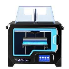 """FDM 3D Printer Dual Extruder w/ Print Size 9.1"""" x 5.9"""" x 5.9"""""""