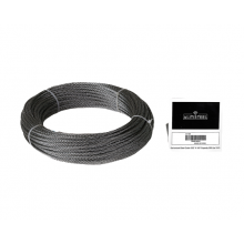 "Galvanized Cable 5/32"" x 100' Capacity 560 Lbs 7x19"