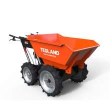 Gasoline Powered Wheelbarrow Mini Dumper 660lbs Capacity