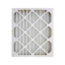 Pleated Air Filter MERV13 15-in x 20-in x 2-in Qty 8