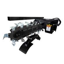 Skid Steer Trencher Attachment Rock & Frost Chain