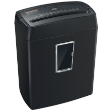 6-Sheet Cross-Cut Shredder Home And Small Office Shredder