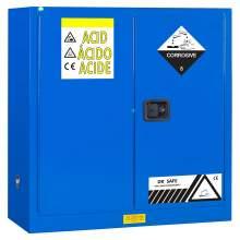 "Acid And Corrosive Cabinet 30 Gallon 44"" x 43"" x 18"" Manual Door"
