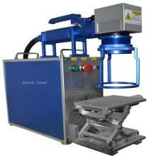 JPT 30W Hand Held Fiber Laser Marking Machine Metal Laser Engraver