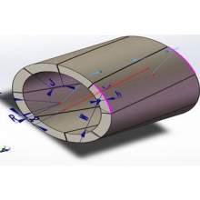 Neodymium Rare Earth Magnet Super Strong NdFeB for PMSM motor