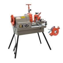 """Pipe Threading Machine 1/2"""" to 4"""" NPT Automatic Threader Cutter 1HP"""