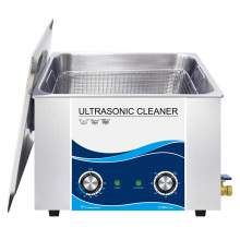 15L 4 Gallon Ultrasonic Cleaner 360W Piezoelectric Transducer 40Khz