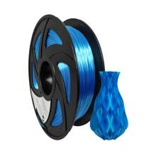 3D Printer PLA Plus Silk Blue Filament 1.75mm 2.2Lbs