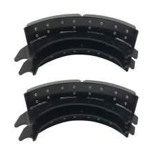 4709-A004 Lined Brake Shoe 4709ES2 Set 16-1/2'' x 7''