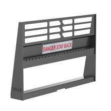 48'' Pallet Fork 4400lb Capacity Skid Steer Attachment Quick Tach