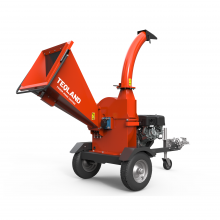 15hp Gasoline Engine Disc-Cutting Wood Chipper 4.7 inch Capacity
