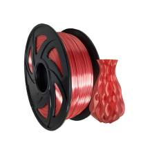 3D Printer PLA Plus Silk Red Filament 1.75mm 2.2Lbs