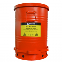 Oily Waste Can 21 Gallon Red