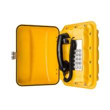Analogue IP66 Aluminium Alloy Outdoor Emergency Weatherproof Telephone