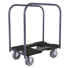 1600 lb EXTREME-DUTY E-TRACK Panel Cart Dolly Black
