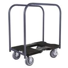1600 lb EXTREME-DUTY E-TRACK Panel Cart Dolly Black