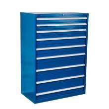 "Industrial Modular Drawer Cabinet 40 1/4"" x 22 1/2"" x 57"" 9 Drawers"