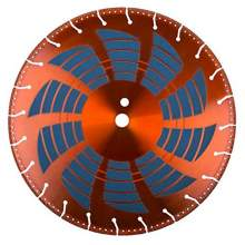 """NED 12"""" Rescue Blade With Abrasive Side* (Segmented Blade)"""