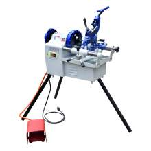 "Electric Pipe Threader Machine 1/4"" to 2""Threading Cutter,Deburrer NPT"