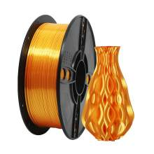1.75mm PLA SILK Gold Filament 1kg/2.2Lbs for 3D Printer