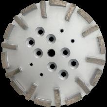 10'' Disc concrete diamond tools with 20 segments soft bond 60#