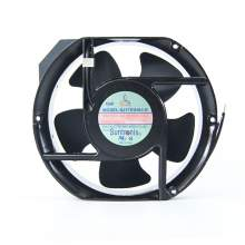 6-77/100'' Standard square Axial Fan square 115V AC 1 Phase 240cfm