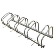 5 Bicycle Floor Parking Adjustable Storage Stand Bike Rack