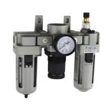 "3/8"" NPT 40 Micron Air Filter Regulator Lubricator"