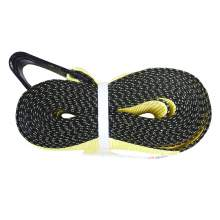 """Lashing Strap with Flat Hook Winch Strap 4"""" x 30' 16200lbs"""