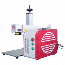 New Update JPT MOPA 30W Portable Galvo Fiber Laser Marking Machine