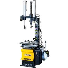 Dual Assist Arms Tire Changer Machine 24 Inch Capacity Pneumatic 110V