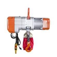 Electric Chain Hoist 1100 Lb. Cap. 19 ft Lift 110V/60Hz 1-Phase