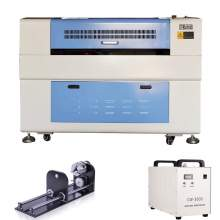 100W Reci W4 CO2 Laser Engraver and Cutter P1