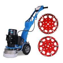 10'' 250 mm diameters concrete floor grinder & 2x grinding heads
