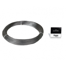 "Galvanized Cable 3/64"" x 250' Capacity 54 Lbs 1x7"