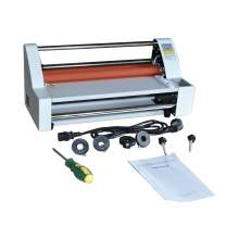 14 inch Digital Laminating Machine Hot Cold Roll Laminator