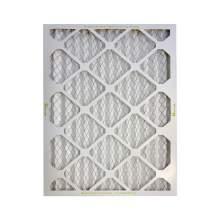 12 x 24 x 4 Basic Household Pleated Air Filters MERV8 Qty 4